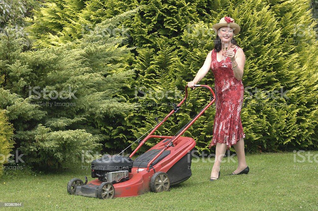 Happy Gardener royalty-free stock photo