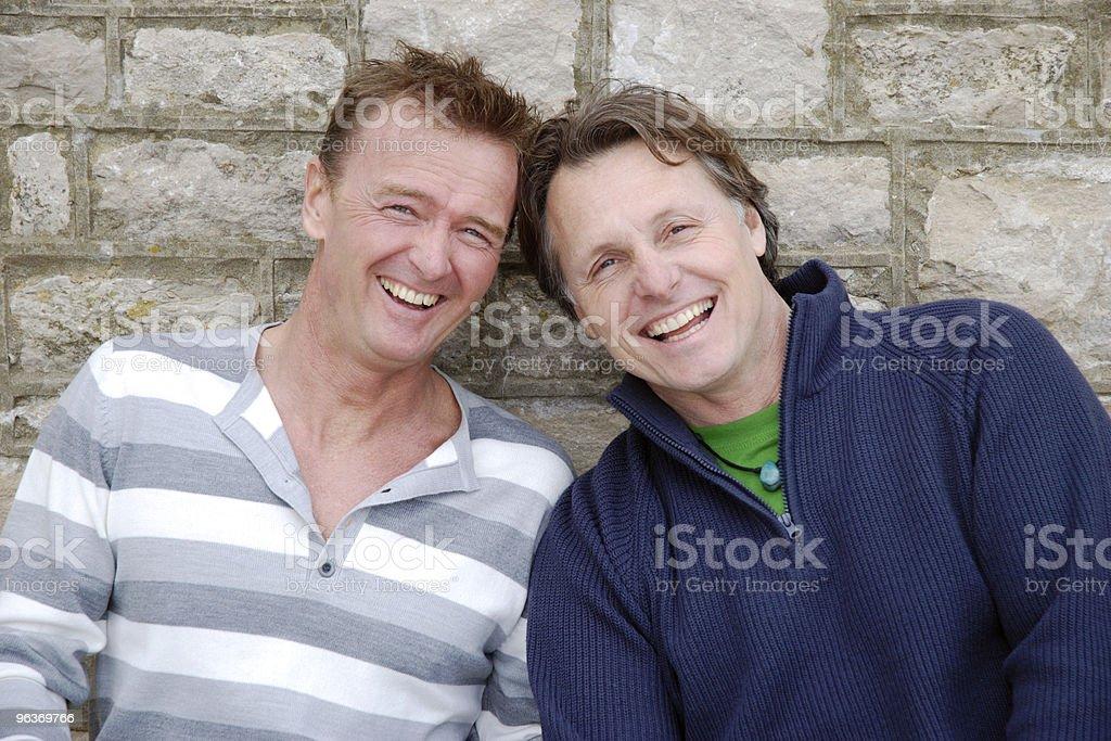 happy gay couple. royalty-free stock photo