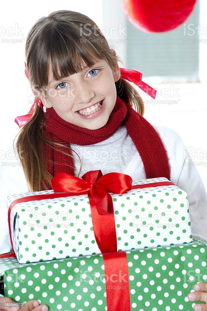 Happy Girl. royalty-free stock photo