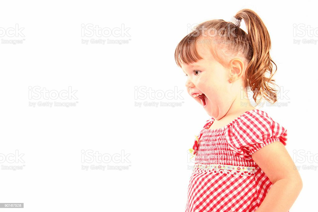 HAppy girl ! stock photo
