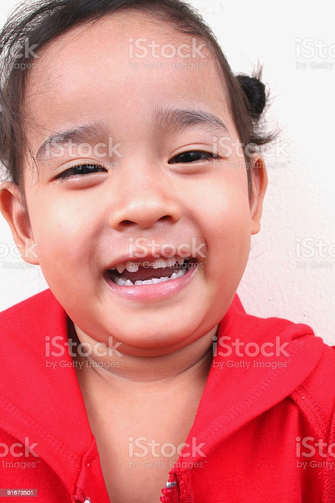 Glückliche Mädchen Lizenzfreies stock-foto