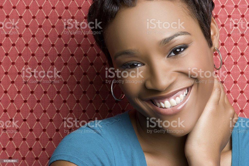 Happy Girl Smiling royalty-free stock photo