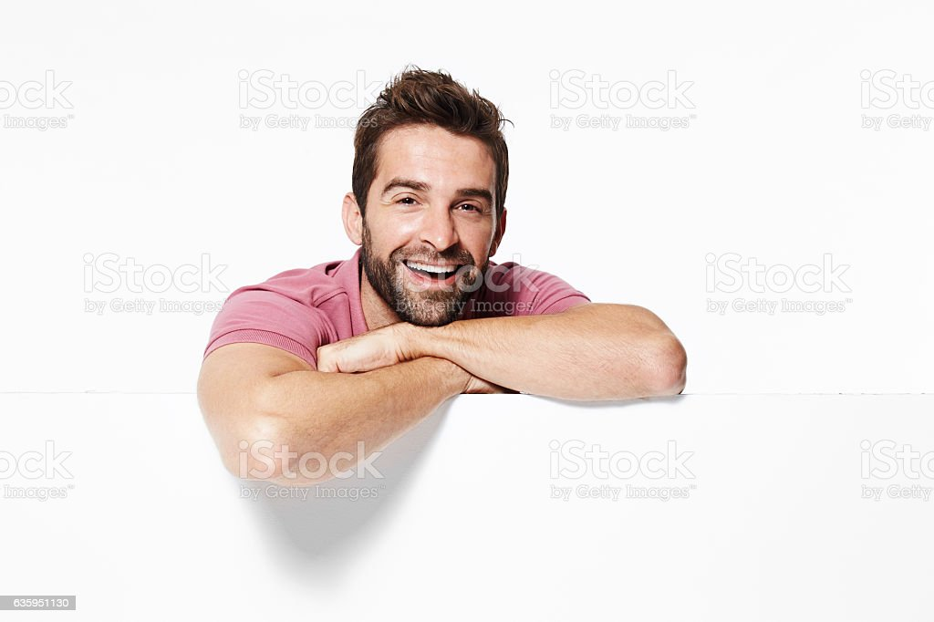Happy go lucky stock photo