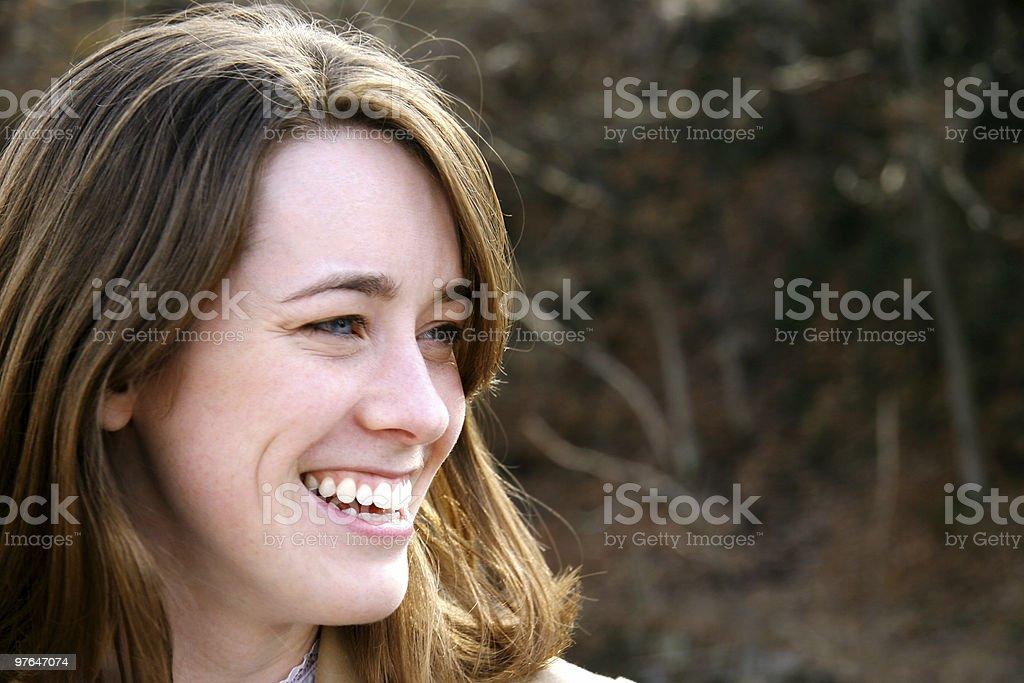 happy go-lucky royalty-free stock photo