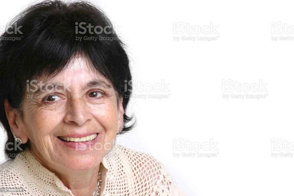 Happy Grandparent stock photo