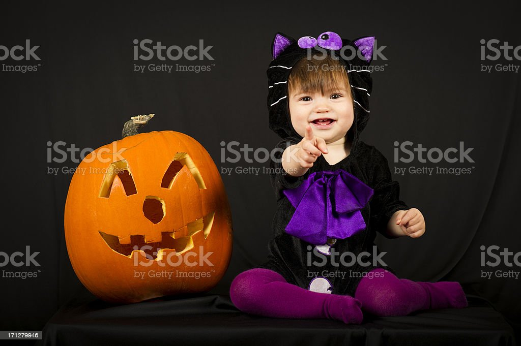 Happy Halloween stock photo