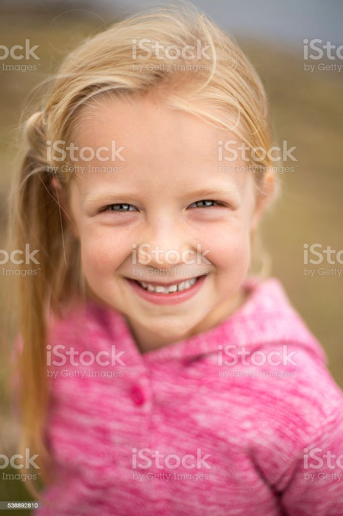 Happy Headshot stock photo