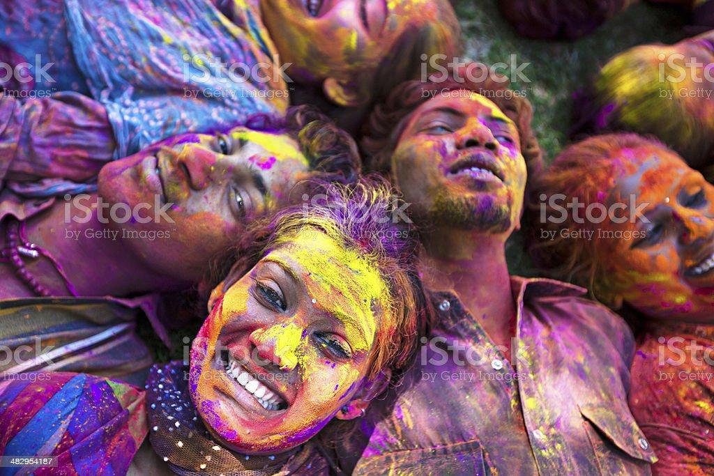 Happy Holi royalty-free stock photo