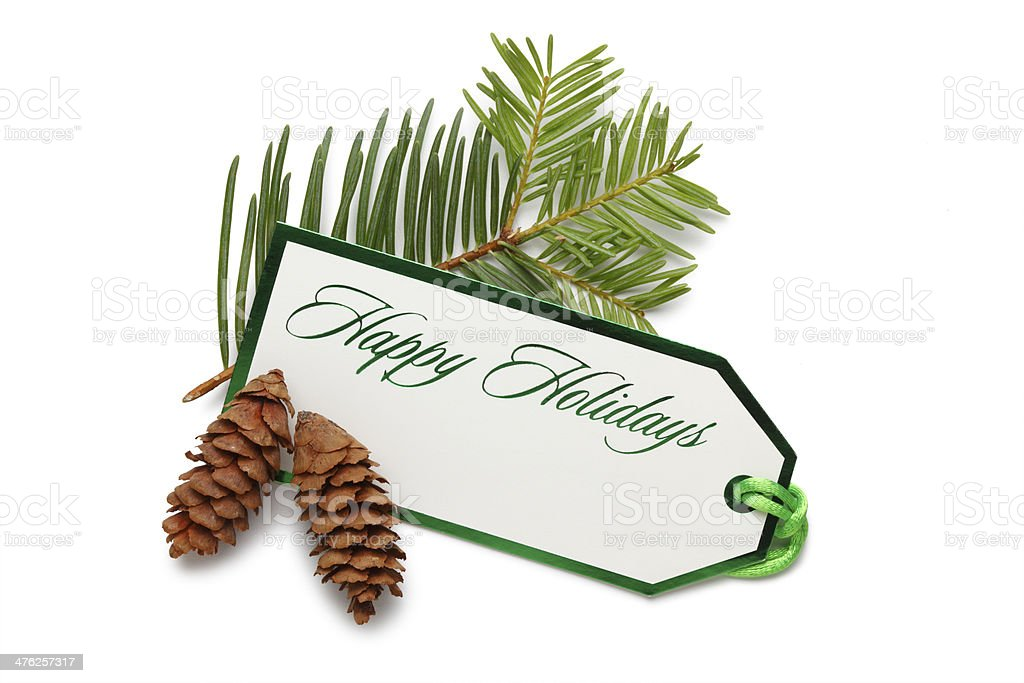 Happy Holidays royalty-free stock photo