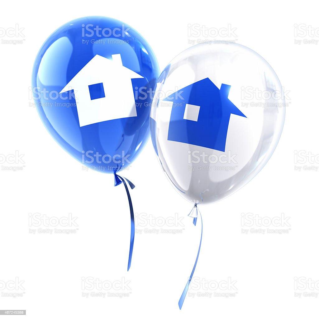 Happy Home stock photo