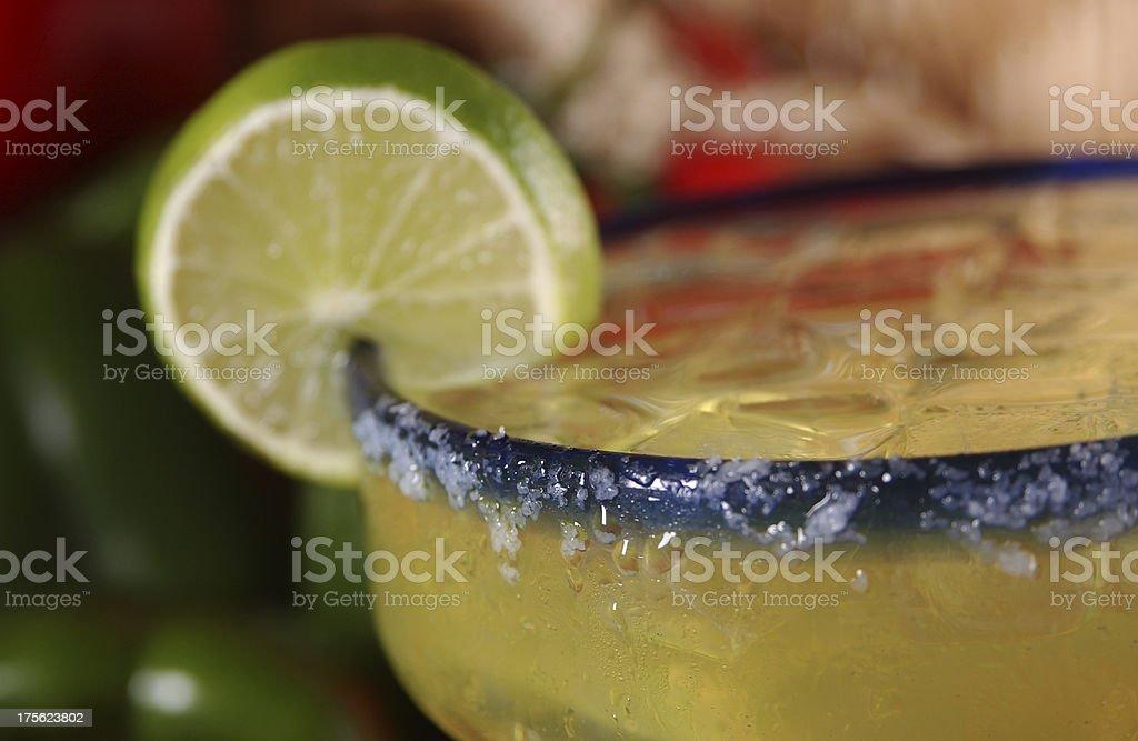 Happy Hour Margarita close up stock photo