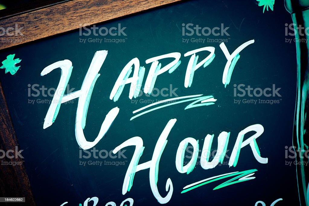 Happy Hour stock photo