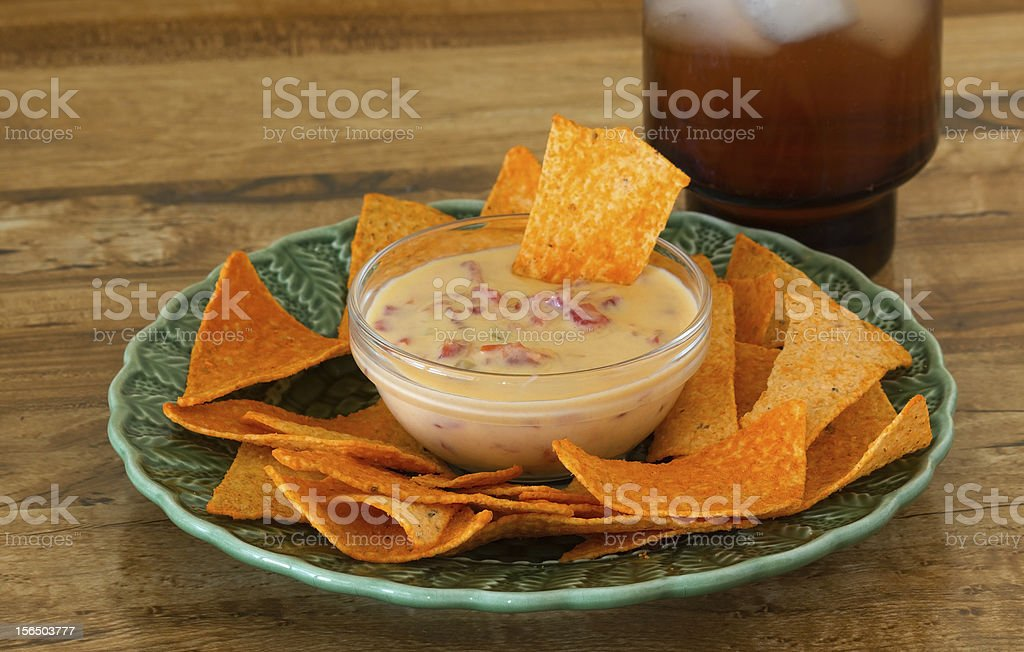Happy Hour Snacks stock photo