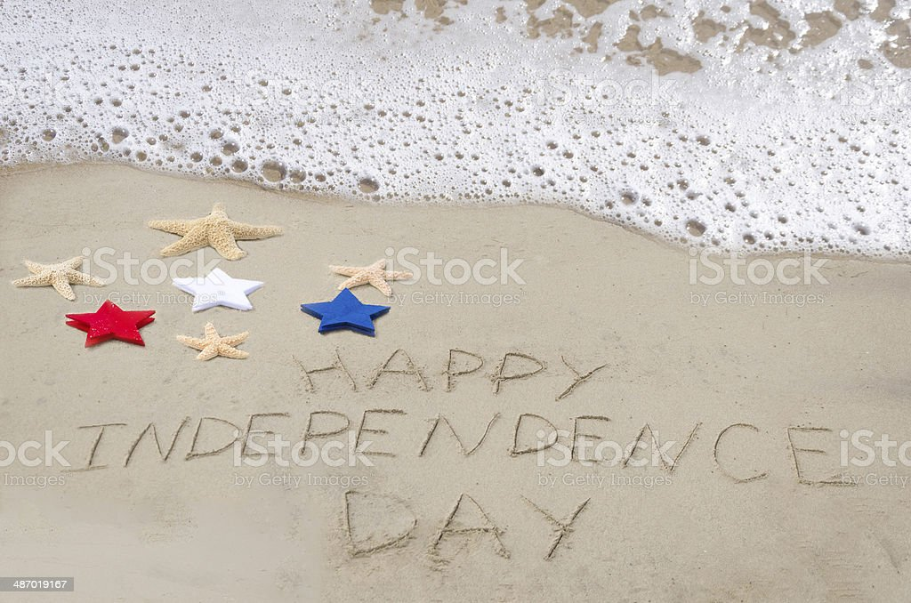 Happy Independence day background royalty-free stock photo