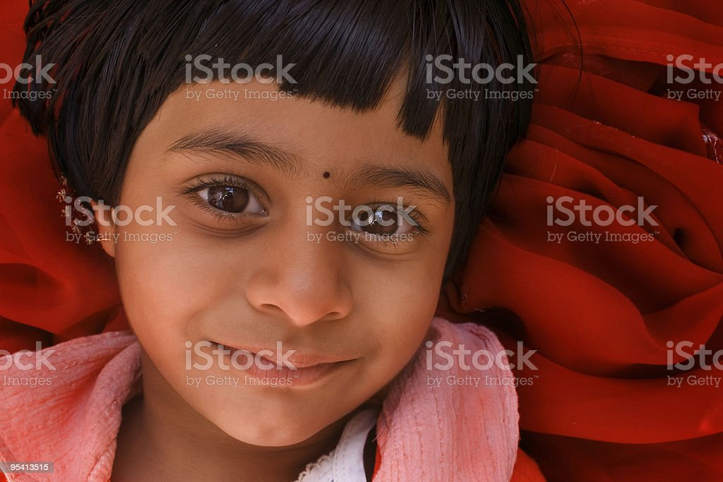 Happy Indian Girl royalty-free stock photo