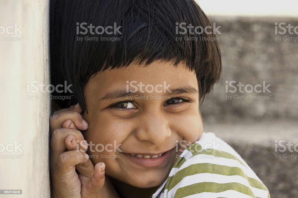Happy Indian Girl stock photo