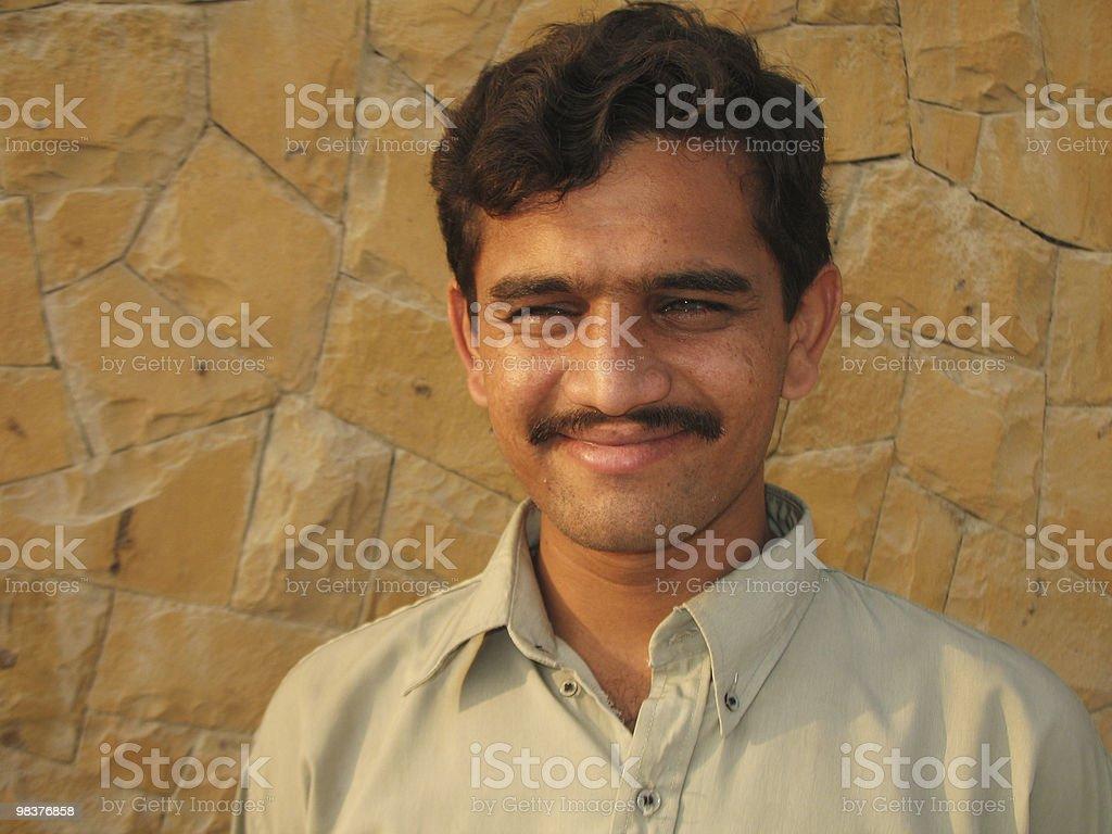 Happy Indian stock photo