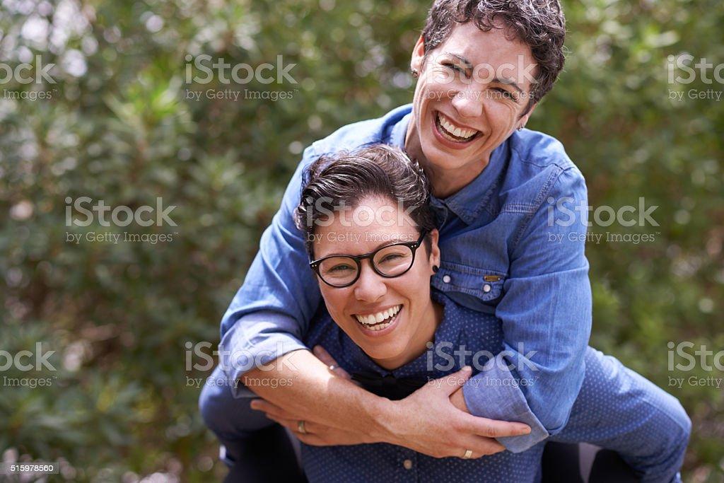 Happy is the best feeling stock photo