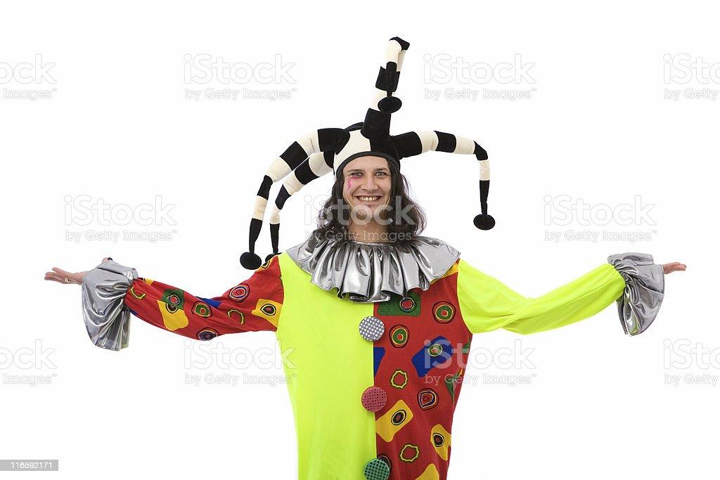 happy joker royalty-free stock photo