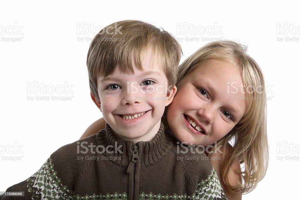Happy kids. royalty-free stock photo