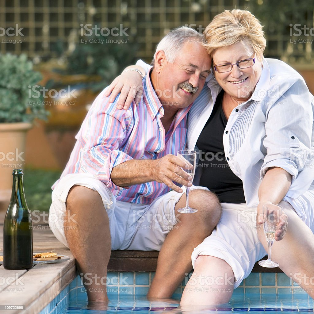 Happy life royalty-free stock photo