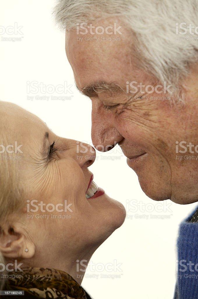 Happy lifetime royalty-free stock photo