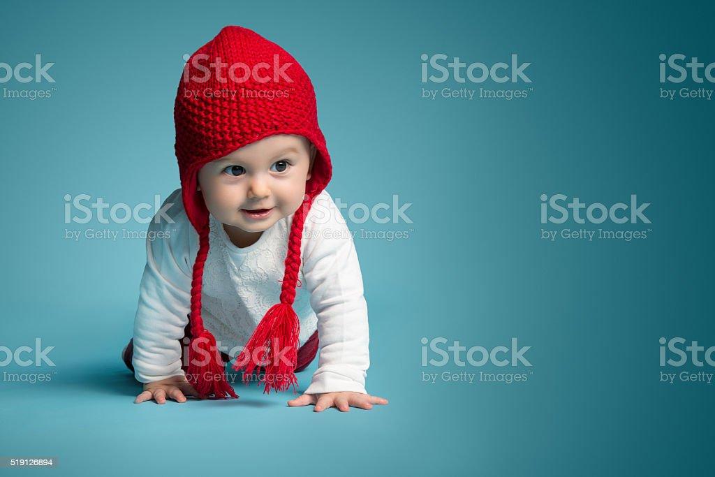 Happy Little Babby stock photo