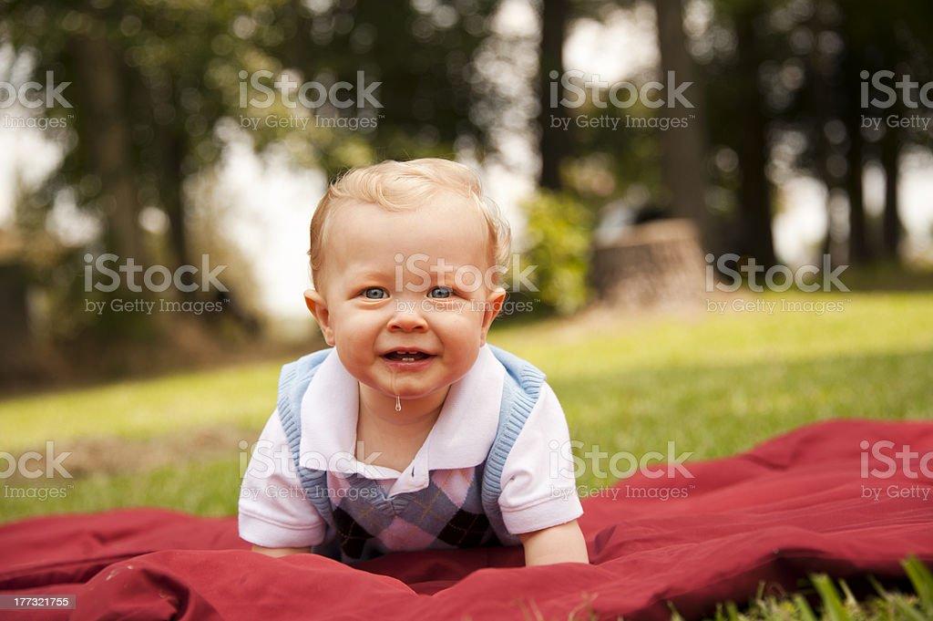 Happy Little Boy royalty-free stock photo