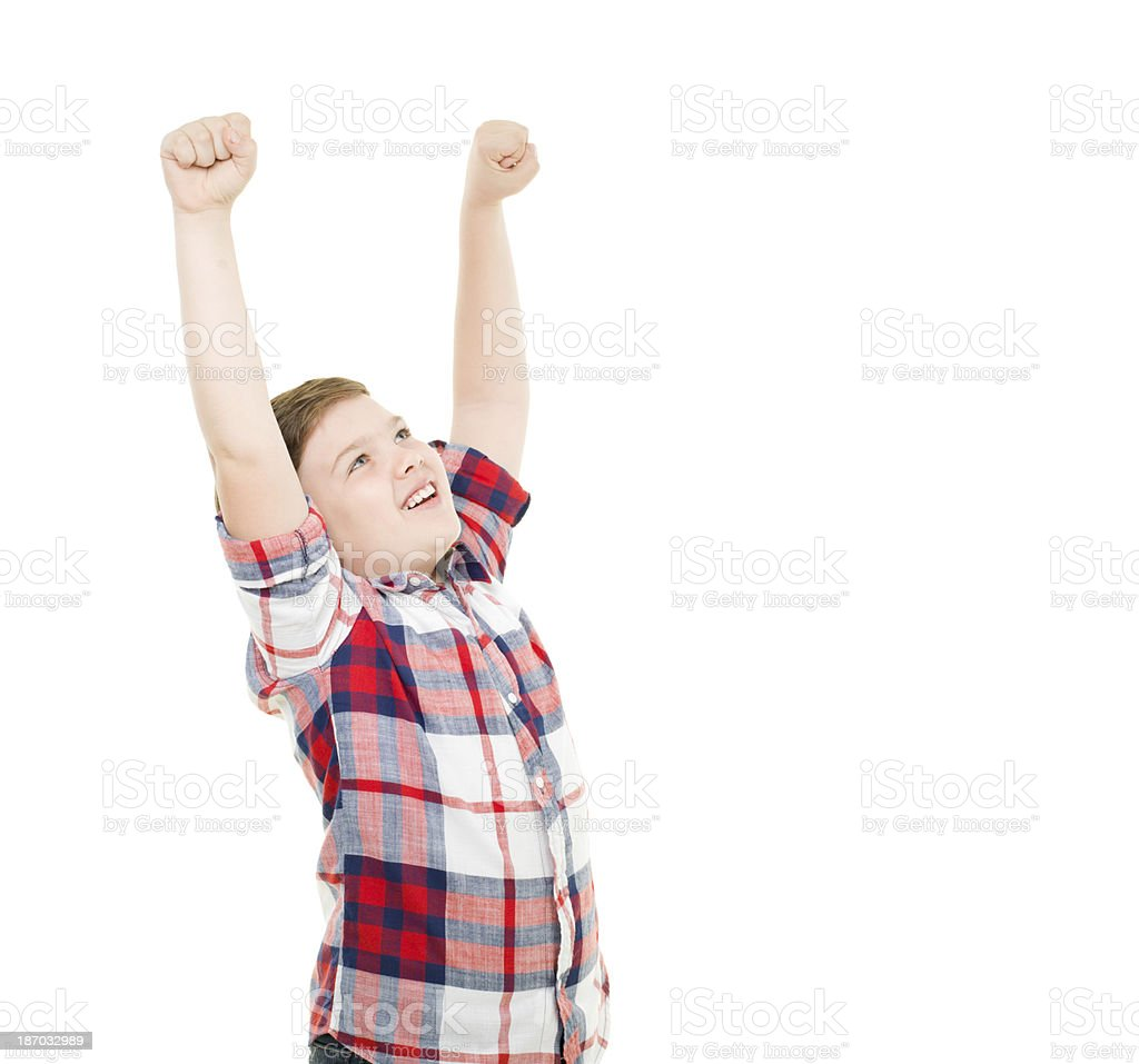 Happy Little Boy royalty-free stock photo