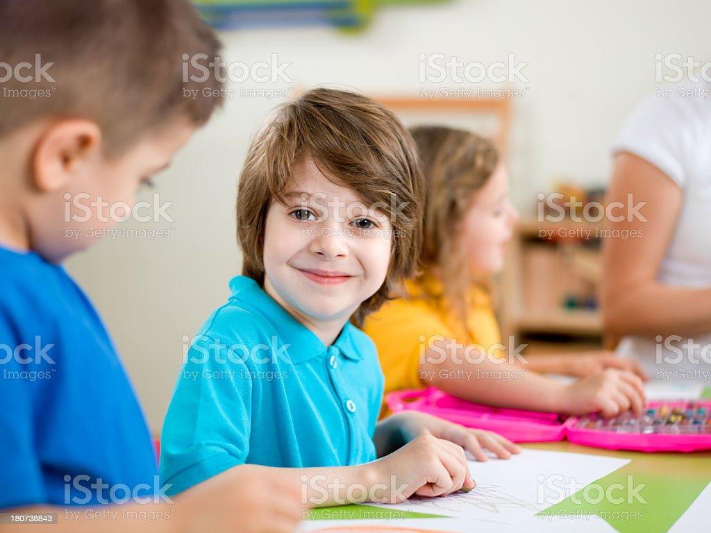 Happy Little Boys royalty-free stock photo