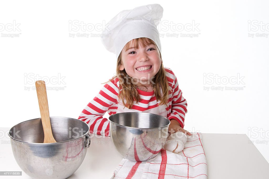 Happy Little Chef royalty-free stock photo