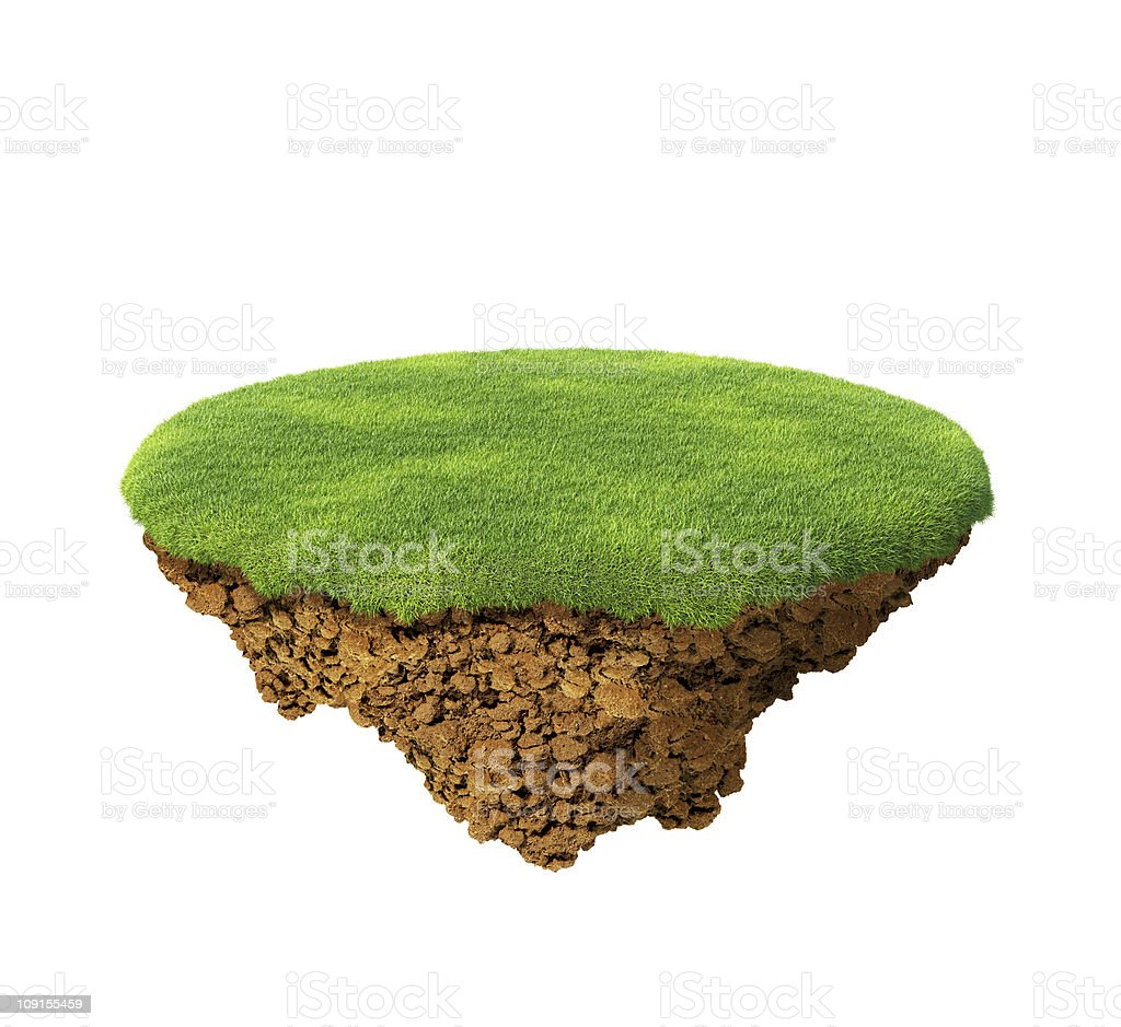Happy little planet concept. Isolated. Multiuse. royalty-free stock photo
