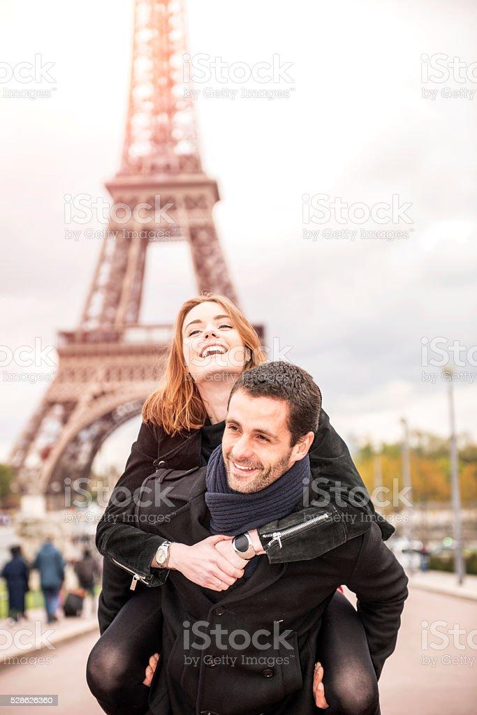 Happy loving couple stock photo