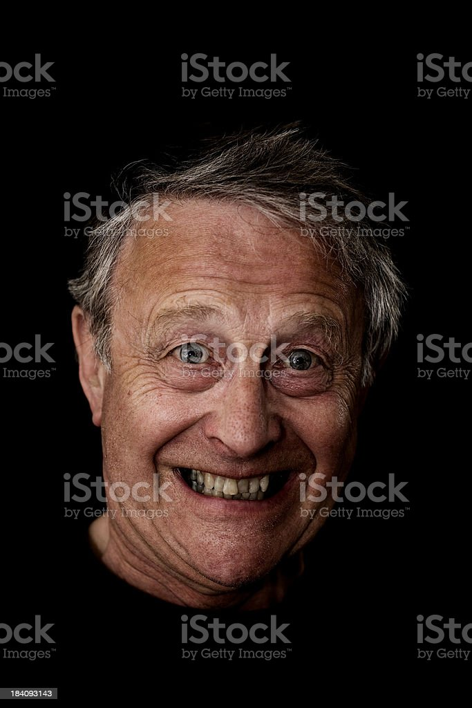 Happy mad royalty-free stock photo