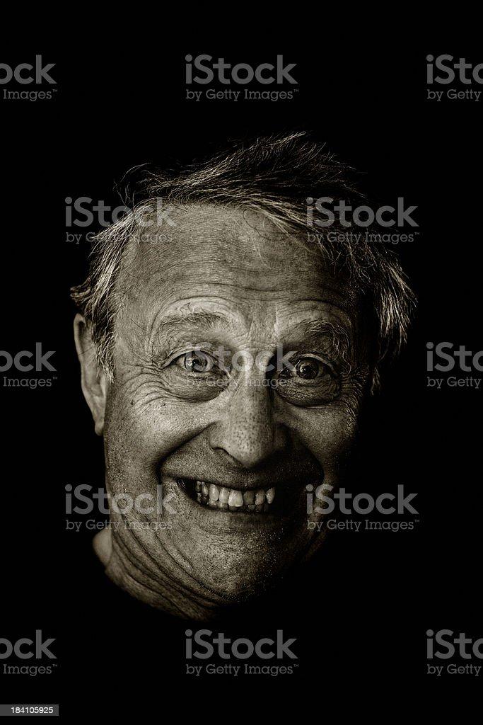 Happy mad royalty-free stock photo