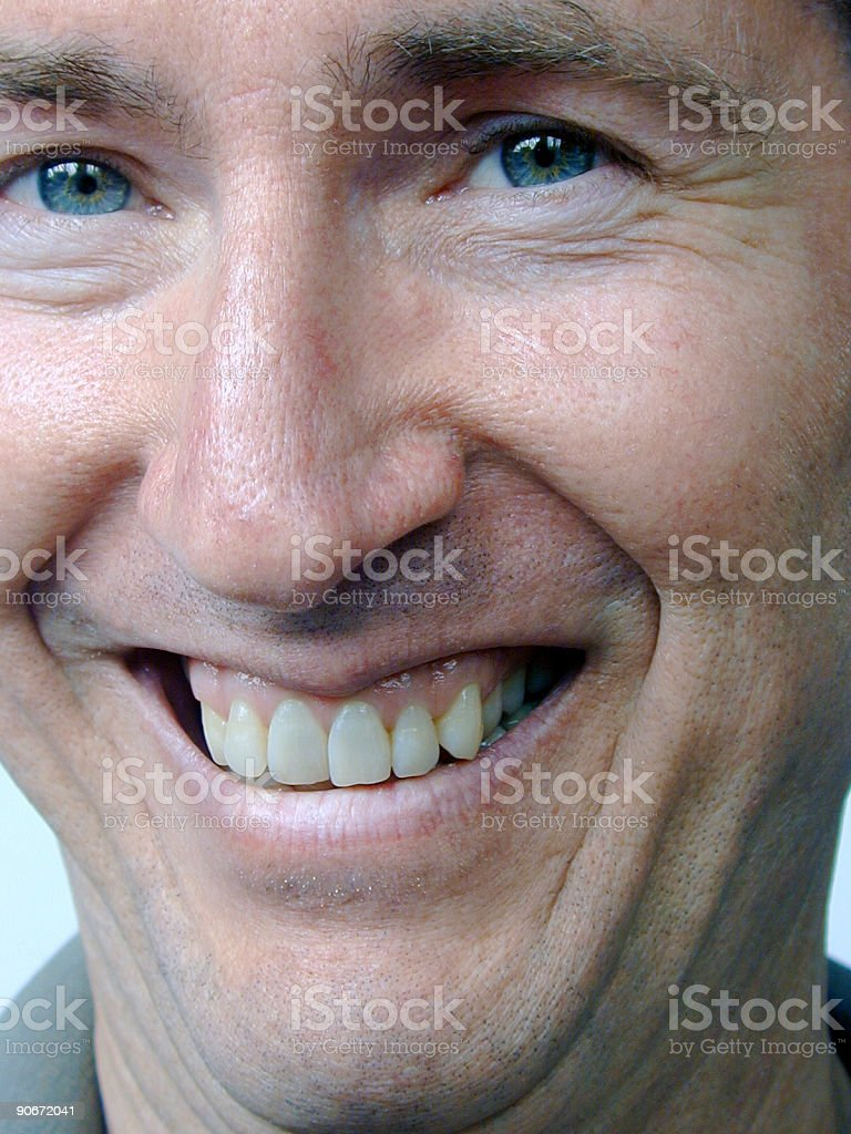 Happy Male Face royalty-free stock photo