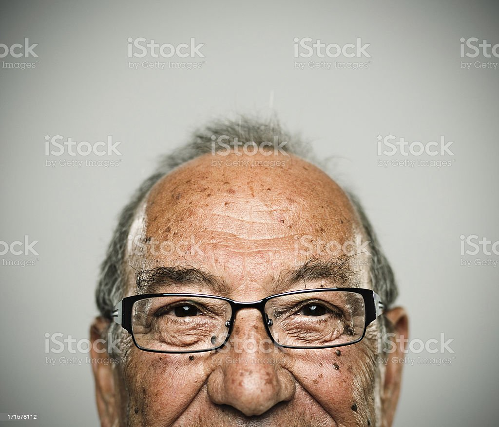 Happy man stock photo