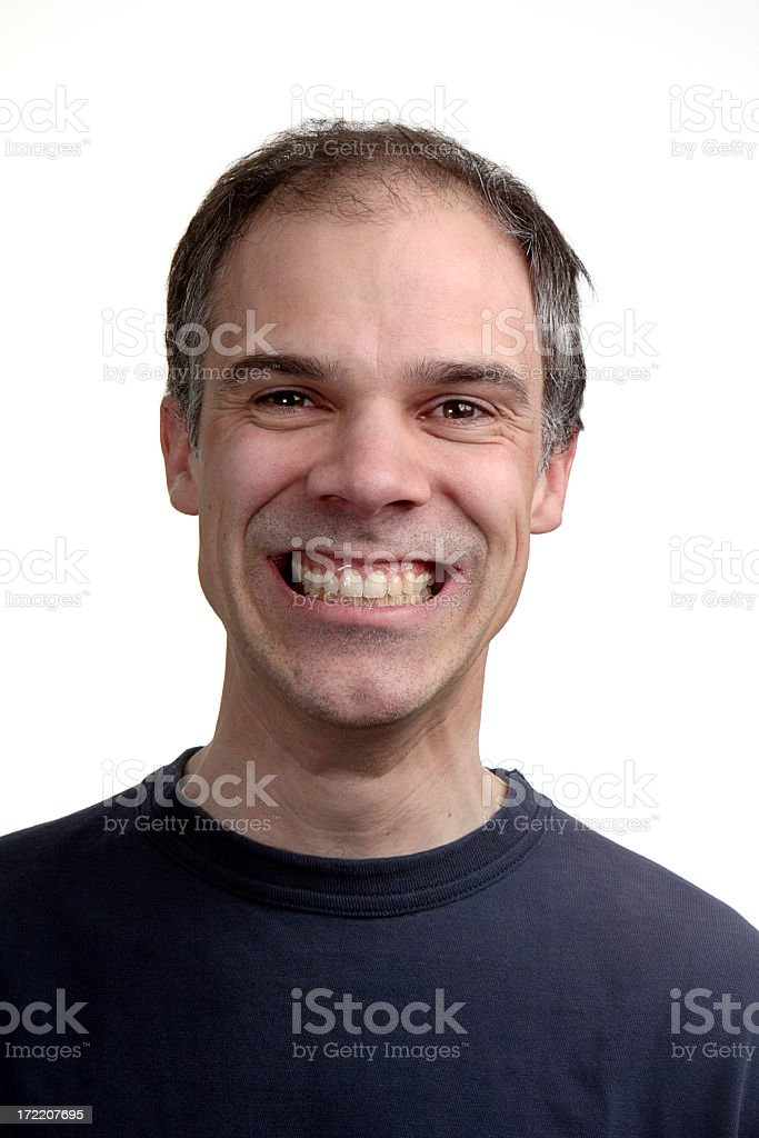Happy Man royalty-free stock photo