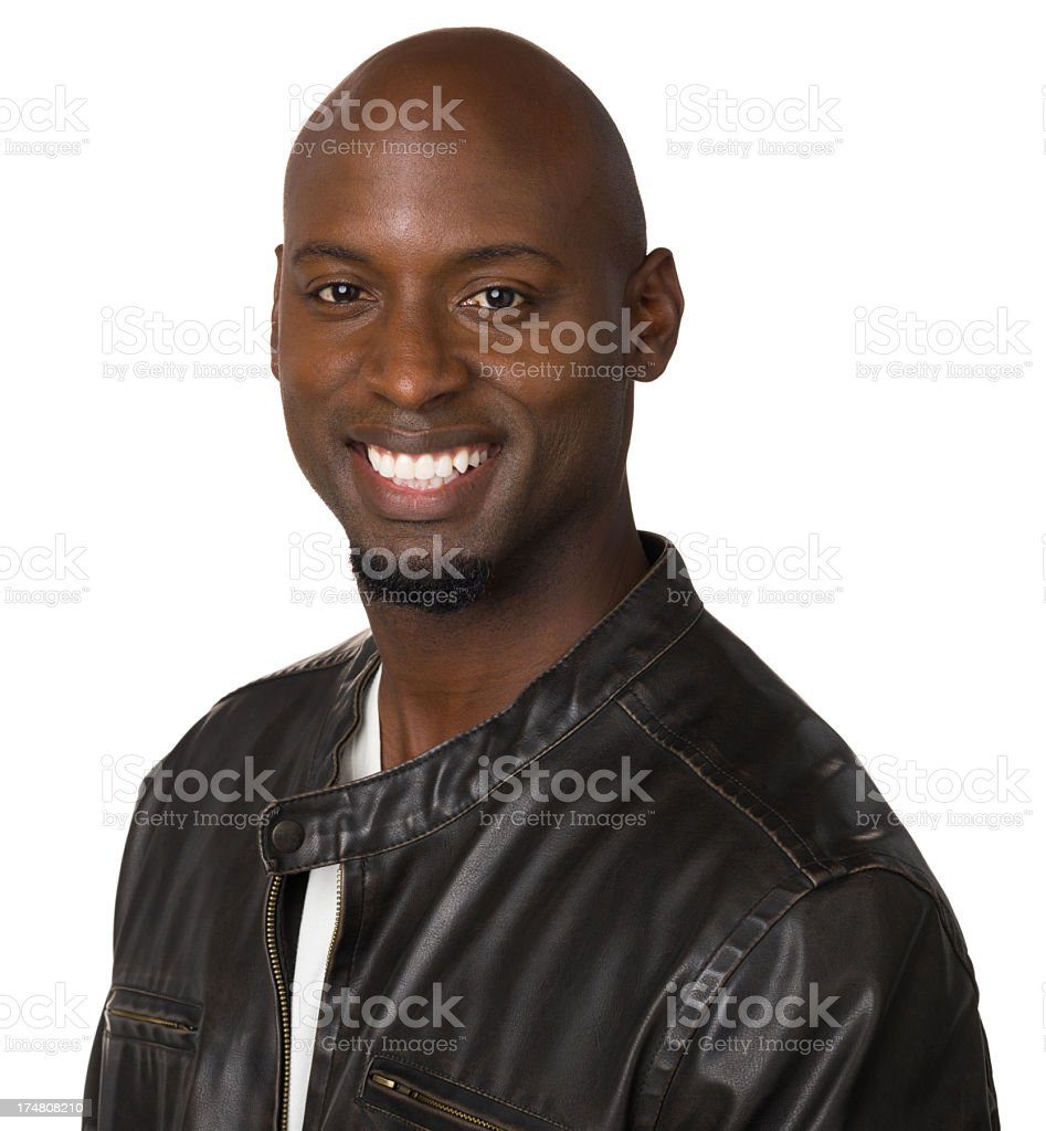 Happy Man Smiling Portrait royalty-free stock photo