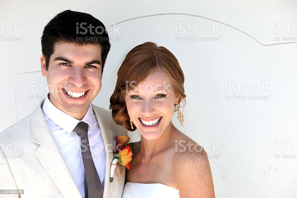 happy marriage royalty-free stock photo