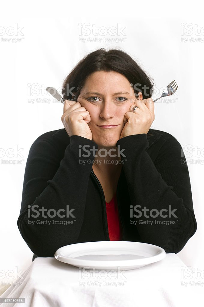 Happy meal royalty-free stock photo