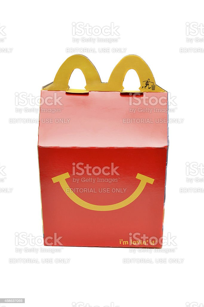 Happy Meal stock photo