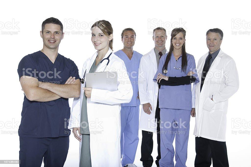 Happy Medical Team royalty-free stock photo