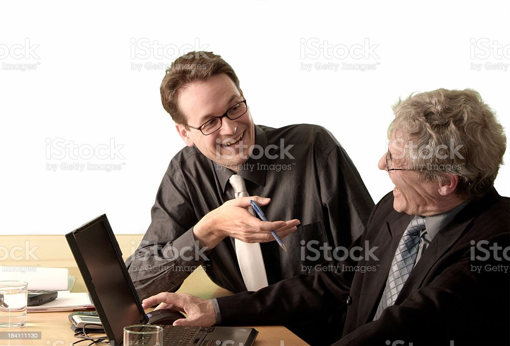 Happy Meeting royalty-free stock photo