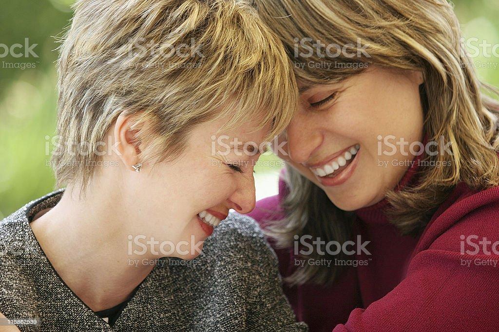 Happy moment stock photo