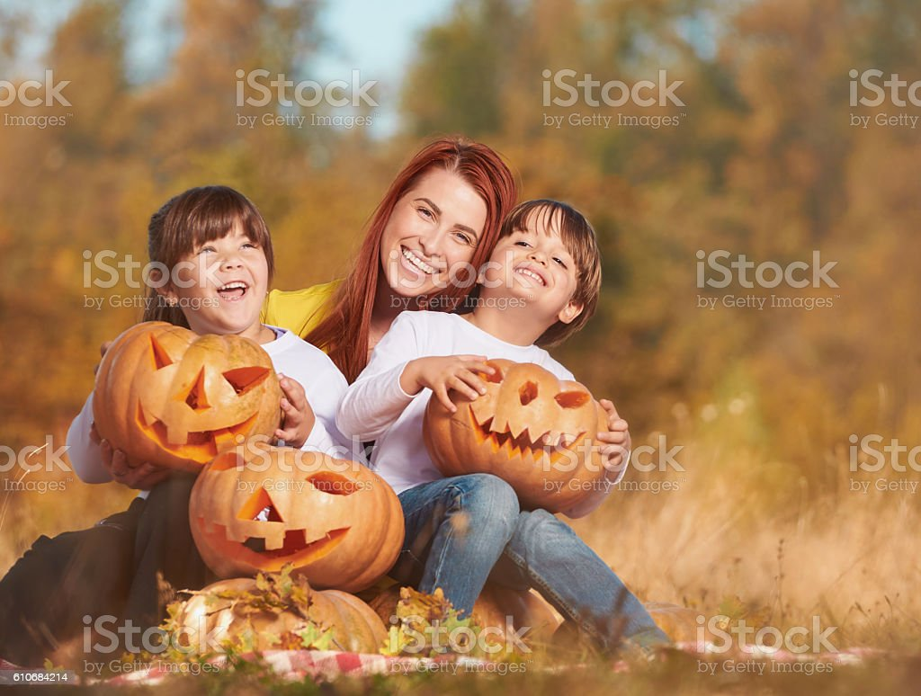 happy moments together stock photo