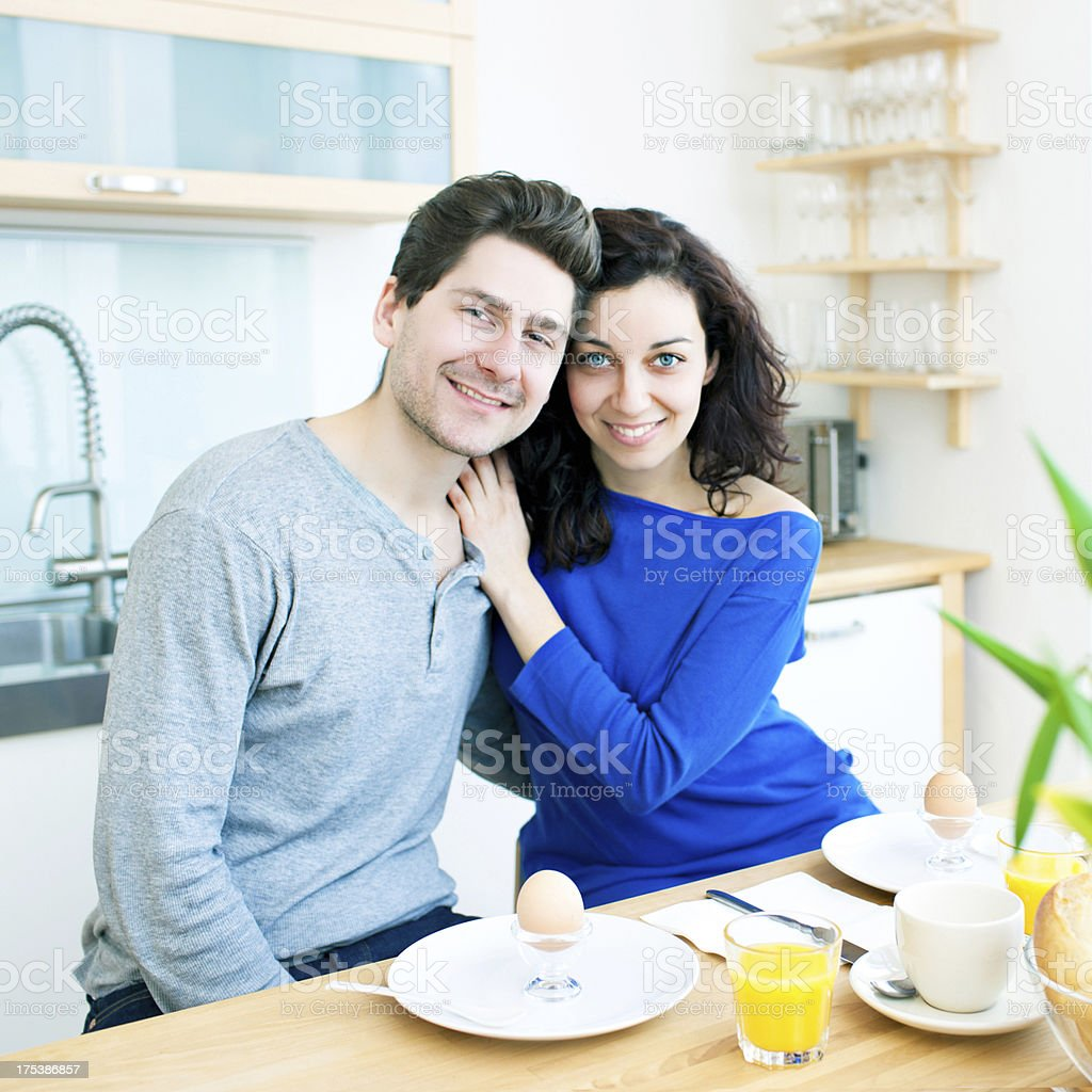 Happy morning royalty-free stock photo