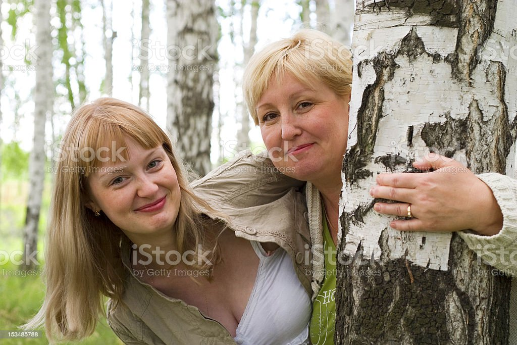 happy mother and daughter royalty-free stock photo