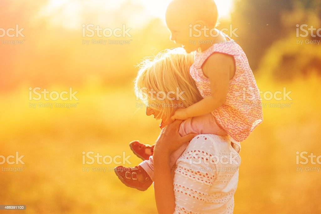Happy Motherhood stock photo
