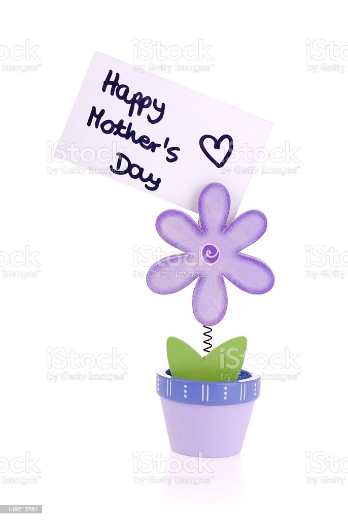Happy Mother's Day. royalty-free stock photo